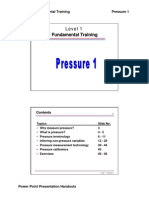 Training - Pressure1