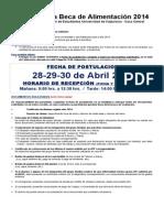POSTULACIÓN Beca de alimentación FEUV-Casa Central 2014.doc