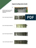 NCR Cassette Magnet Configuration