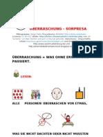 SORPRESA - ÜBERRASCHUNG deutsch