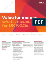 Value for Money - What It Means for NGOs Jan 2012