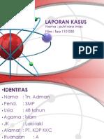 LAPORAN KASUS 1 Gastritis Kronik