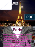 Power Point Project on Paris3585
