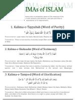 Six Kalima of Islam