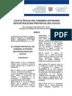 Gaceta Provincial Del Guayas n20
