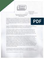 MarketBasket Letter