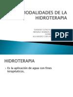 fisioterapia hidroterapia