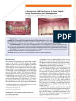Primary Gingival Squamous Cell Carcinoma