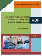 Aspectos Psicologicos de Paciente Quirurgico Monografia
