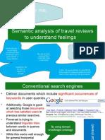 Semantic Analysis Of Travel Reviews Understand Feelings