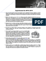 Partially Guided Experiments for SFYC 2014_english