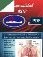 RCP (Resucitación Cardio Pulmonar)