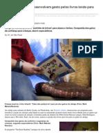 Nos EUA Crianas Desenvolvem Gosto Pelos Livros Lendo Para Gatos