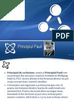 Principiul Lui Pauli