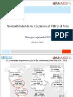 Sostenibilidad Resp VIH_ Septiembre-2011