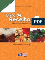 Alimentação Escolar Livro de Receitas Livro de Receitas Subsite