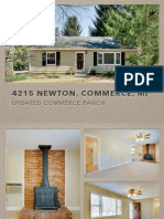4215 Newton, Commerce, MI | Updated Commerce Ranch