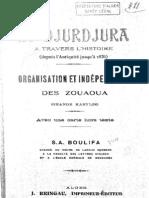Le Djurdjura à travers l'histoire, par Ammar ou Saïd Boulifa, 1925