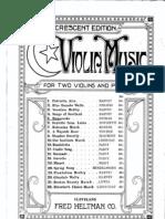Dvorak Humoreske 2 Violin Piano