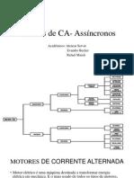 Motores de CA- Assíncronos