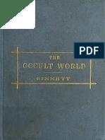 The Occult World - A. P. Sinnett