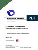 Disruptive Analysis Carrier WiFi
