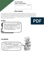 Guia de Aprendizaje Para Prueba de Lenguaje Para Fran Abril Del 2014