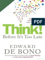 Think! - Edward de Bono