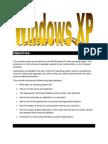 QuickStart to WindowsXP