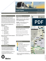 Crenshaw/LAX Transit Project Traffic Control Implementation