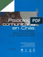 Psicologia Comunitaria en Chile