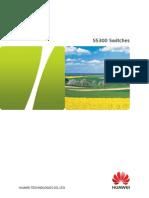 Huawei S5300 datasheet