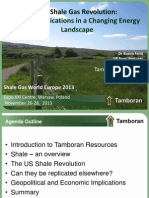Shale Revolution Changing Landscape