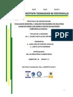 Gelatina Protocolo