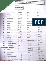 Physics Compendium