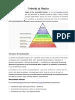 Pirámide de Maslow