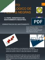 3.2 Papel Esrategico Del Mantenimiento Industrial (Expo Clase)