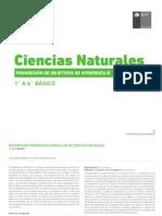 Progresion de OA - Ciencias Naturales