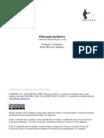 Educacao Inclusiva_o Professor Mediando Para a Vida(ELIANE)
