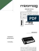 Micromoog Manual