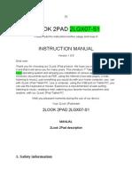 Manual for 2LGX07-S1 Pre Press
