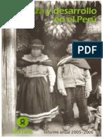 2006  Informe Anual 2005 - 2006 Institucionalizacion de La Fragmentacion