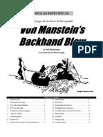 Von Manstein Backhand Blow(Trad)
