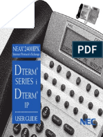 Dterm i IP 2400 IPX User Guide