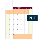 Calendar martie 2014