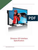 3D Interface Specification Dimenco