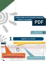Tutorial voto electrónico en la consulta de rector 2014-2018