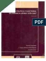 2008  Reforma Politica Electoral en America Latina 1978-2007