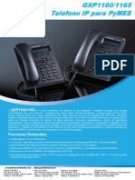 Gxp116x Brochure Spanish