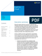 The Microsoft Approach to Compliance in the Cloud